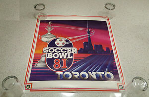 NASL SOCCER BOWL 1981 poster Toronto