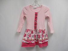 NAARTJIE KIDS Girls Pink Long Sleeve Knit Sweater Dress Size 3