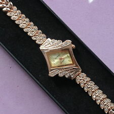 Unbranded Women's Gold Plated Strap Polished Wristwatches