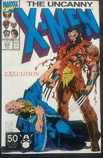 THE UNCANNY X-MEN. VOL 1. NO 276. 1991. JIM LEE WOLVERINE COVER AND ART.