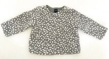 Gap Baby Girl Pompom Outerwear Jacket Size 18-24 Months