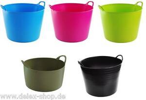 Flexi Tub Wäschekorb Garteneimer Blumenkübel Futtereimer Flexi-Tub Farben Größen