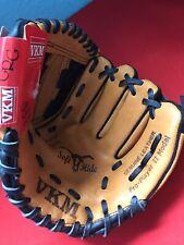 "Vkm Left Hand 9 1/2 "" Tan And Black New Baseball Mitt Vko95 Soft Hide Leather ⚾�"