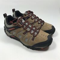 Merrell Crosslander Vent Men's Size 10.5 Hiking Sneaker Shoes Brown Black
