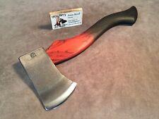 Council Tool utility camp axe hatchet Polished custom Jesse Reed hickory handle
