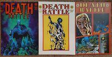 Death Rattle 1, 2 & 3 Corben (1972) Underground Comic FINE Free Shipping!
