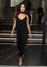 NWT Equipment Racquel Silk Slip Dress - Black - Selena Gomez -MSRP $400- Small S