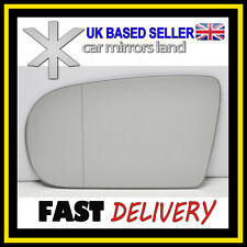Left Passenger Wing Mirror Glass WIDE ANGLE  MERCEDES E-Class W210 00-02