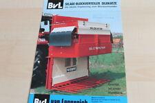 140432) BVL Van Lengerich-Silo GATTO prospetto - 198?