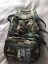 MilCom Camo air jet Backpack Rucksak Burgen Army Style Paintball BNWT