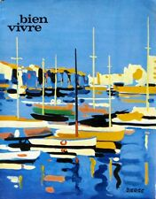 Bien Vivre n°59 - 1967  - L'Hérault- Gastronomie - Tourisme - Beaux Arts