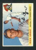 1955 Topps #26 Dick Groat VGEX Pirates 86154