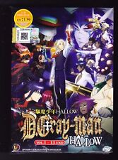 *NEW* D.GRAY-MAN HALLOW *13 EPISODES*ENGLISH SUBTITLES*ANIME DVD*US SELLER*