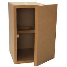 Knock-Down MDF 0.56 ft³ Bookshelf Cabinet
