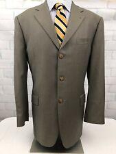 Joseph Abboud American Soft Men's Micro Check Wool Suit Sz 42 R Pants 36 X 29.5
