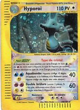 HYPOROI CRISTAL 110PV 148/147 AQUAPOLIS CARTE POKEMON