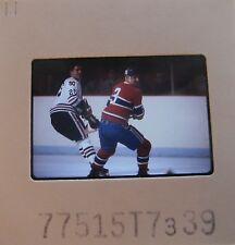 J C TREMBLAY Montreal Canadiens CLIFF KOROLL CHICAGO BLACK HAWKS SLIDE 2