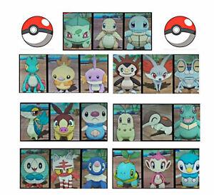 Complete 21 shiny Pokemon Starters 6IVs Sun/Moon Ultra Sword & Shield Game trade