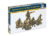 ITALERI 1/35 CANNONE DA 47/32 MOD.39 WITH CREW    ART. 6490