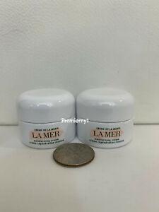 2 x La Mer Creme de La Mer Moisturizing Cream 3.5ml / 0.12oz each