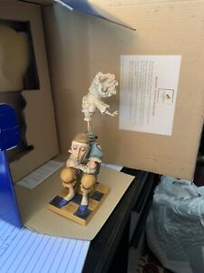 James Christensen Porcelain figurine. Sometimes The Spirit Touches Us. 1068/1950