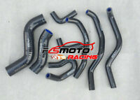 BLACK For TOYOTA Hilux KUN26R SR & SR5 3.0L 2005-2014 Silicone Radiator Hose Kit