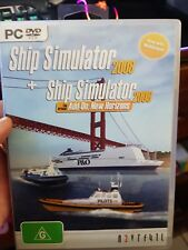 Ship Simulator 2008 + New Horizons Expansion - PC GAME - FAST POST