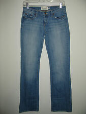 Abercrombie & Fitch Size 2R (29X32) Emma Distressed Flare Jeans Stretch 74-4666