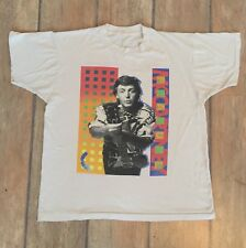 Paul McCartney Tshirt Vintage World Tour 1989/90 Rare