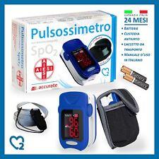 PULSIOSSIMETRO DA DITO PORTATILE CON DISPLAY A LED - OSSIMETRO SATURIMETRO