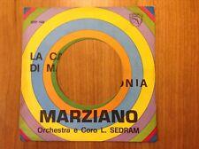 """FABRIZIO DE ANDRE - MARZIANO """"La canzone di Marinella"""" rara cover forata per JB"""