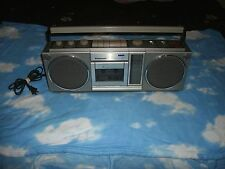 Vintage Panasonic 4930 Boom Box Ghetto Blaster Radio Cassette Player Works Great