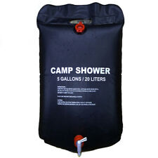 Camping Shower Portable SOLAR 5Gallon Outdoor Camping Hiking Water Bag
