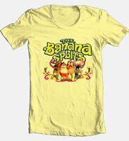 Banana Splits T-shirt Saturday morning 80's cartoons 100% cotton yellow tee