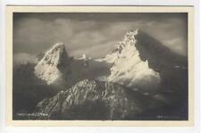 AK Watzmann, Berggipfel, Foto-AK 1935