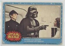 1977 O-Pee-Chee Star Wars #10 Princess Leia Captured! Non-Sports Card 2u1