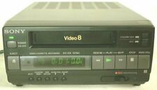 SONY EV-C3 VIDEO 8MM VCR DECK WORKS GREAT FOR 8MM TAPE TO TRANSFER VIDEO TO DVD