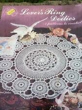Lover's Ring Doilies 5 Patterns to Crochet by Jo Ann Maxwell American 1136