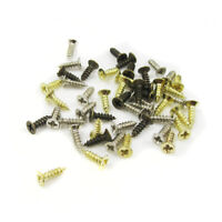 STEEL MINIATURE POZI SCREWS 1.7mm, 2mm, 2.5mm, 3mm ~ 6 LENGTHS ~ 3 COLOURS TINY
