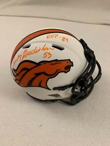 "Randy Gradishar Signed and Inscribed Lunar Eclipse Mini Helmet ""ROF 89"" JSA COA"