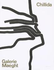 Eduardo Chillida Galerie Maeght Lithograph 19x24.75