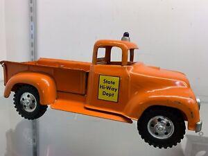 Tonka 57 state hi-way pickup original paint