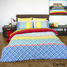 Carlos Reversible Quilt Cover Set by Apartmento - SINGLE DOUBLE QUEEN KING