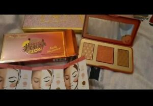 Too Faced Highlighter Palette Sweet Peach Glow -New- Smells like Peaches 🍑