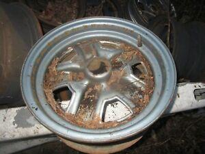 Wheel RWD 14x6 Steel Super Stock Painted Fits 78-88 CUTLASS