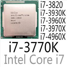intel Xeon i7-3770K i7-3820 i7-3930K i7-3960X i7-3970X i7-4960X CPU Processor
