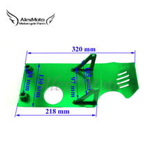 Green Engine Skid Plate For Honda XR50 CRF50 Dirt Pir Bike SSR Thumpstar 110 125