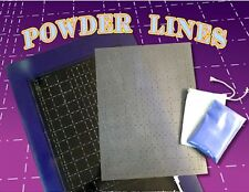 "NEW Andrew Mack Powder Lines Layout ""The Working"" Grid Design Pinstriping Guide"