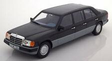 Cult Models 1990 Mercedes Benz W124 Black Lang Version 1:18*Brand New!*NICE!