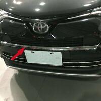 For Toyota RAV4 2016 2017 2018 Front Grille Bumper Upper Protect Trims Chrome